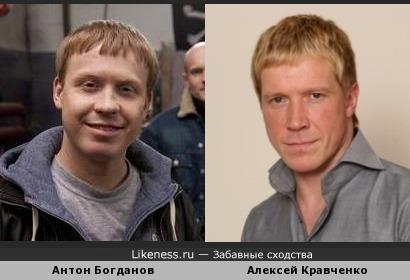 Антон Богданов и Алексей Кравченко