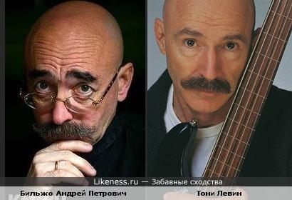Тони Левин и Андрей Бильжо