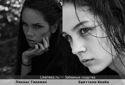 Ленокс Тиллман и Бриттани Клайн