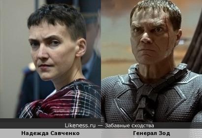 Савченко похожа на Шеннона в роли Зода