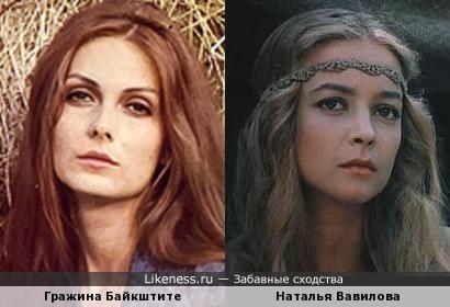 Гражина Байкштите и Наталья Вавилова