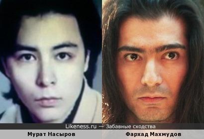 Мурат Насыров и Фархад Махмудов