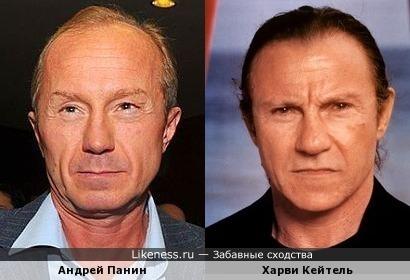 Андрей Панин и Харви Кейтель