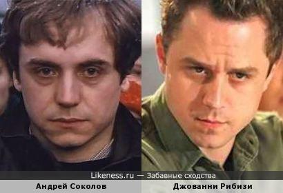 Андрей Соколов и Джованни Рибизи чем-то похожи