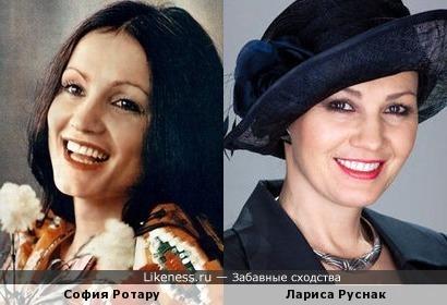 Лариса Руснак напомнила Софию Ротару
