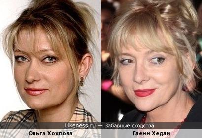 Ольга Хохлова и Гленн Хедли