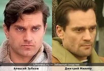 Алексей Зубков и Дмитрий Миллер