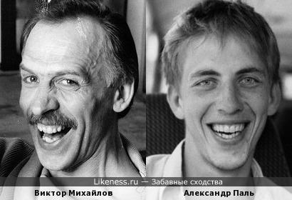 Александр Паль похож на Виктора Михайлова, часть 2: Какая у вас улыбка!