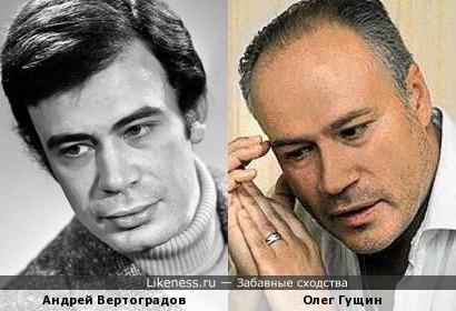 Гущин всегда казался похожим на Вертоградова