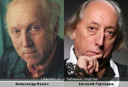 Александр Вокач и Евгений Герчаков