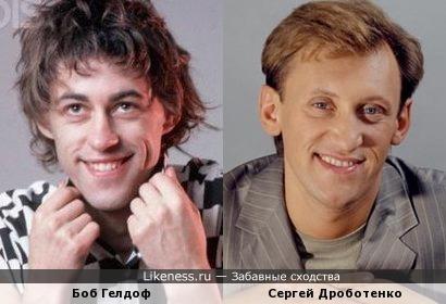 Боб Гелдоф и Сергей Дроботенко