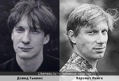 """Хартмут Ланге и Дэвид Тьюлис (конкурс """"КИНОТЕАТР"""")"""