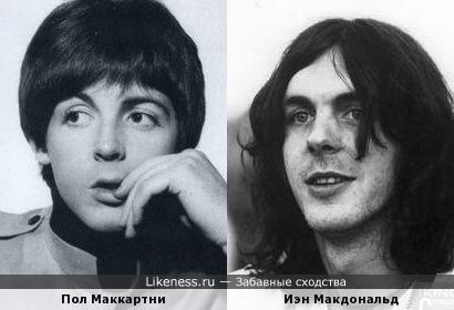 Пол Маккартни и Иэн Макдональд