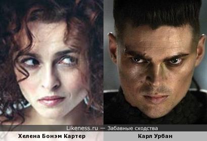 Хелена Бонэм Картер и Карл Урбан