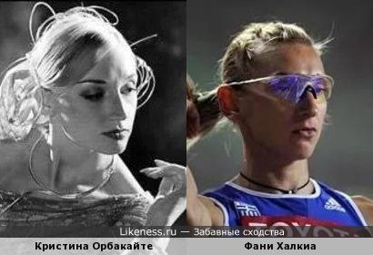Кристина Орбакайте и Фани Халкиа