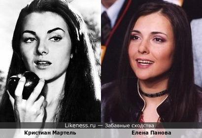 Кристиан Мартель и Елена Панова