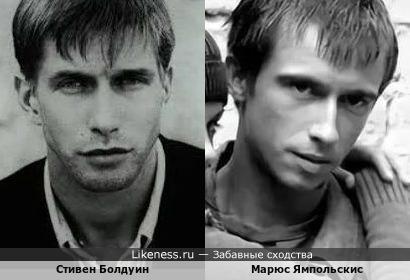 Стивен Болдуин и Марюс Ямпольскис