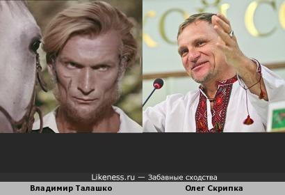 Владимир Талашко похож на Олега Скрипку