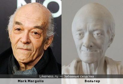 Марк Марголис (Mark Margolis) похож на Вольтера