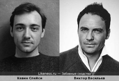 Кевин Спейси и Виктор Васильев