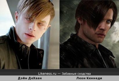 Дэйн ДеХаан и персонаж серии игр Resident Evil