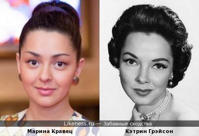 Марина Кравец похожа на Кэтрин Грейсон