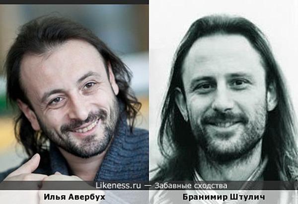 Илья Авербух похож на Бранимира Штулича