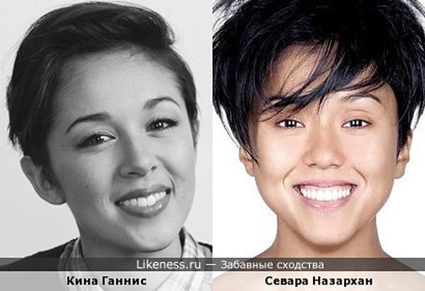 Под разным углом: Кина Ганнис и Севара Назархан