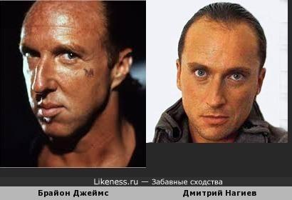 Дмитрий Нагиев и Брайон Джеймс