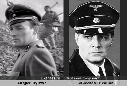 """Немецкий надзиратель из фильма """"Судьба человека""""похож на Штирлица"""