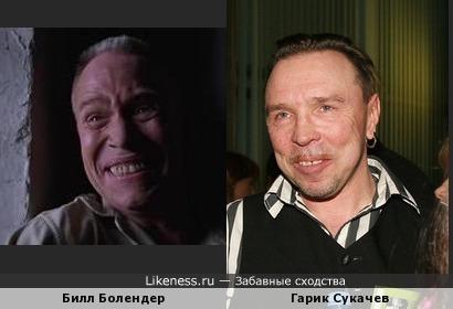 """Актер из фильма """"Побег из Шоушенка""""похож на Гарика Сукачева"""
