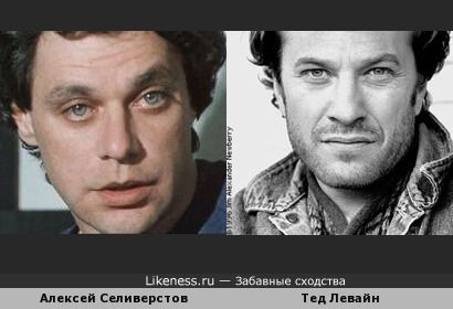 Алексей Селиверстов похож на Теда Левайна