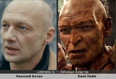 Николай Козак похож на великана Фэллона
