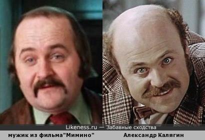 """мужик из фильма """"Мимино""""похож на Александра Калягина"""