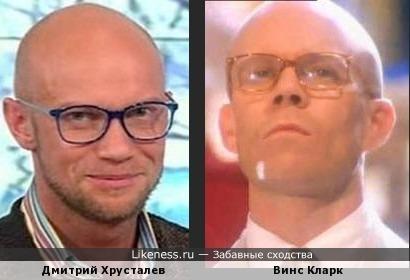 Дмитрий Хрусталев и Винс Кларк