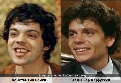 Константин Райкин и Жан-Пьер Дарруссен