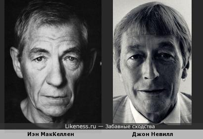 Иэн МакКеллен и Джон Невилл