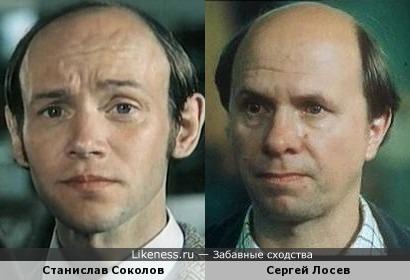 Станислав Соколов и Сергей Лосев