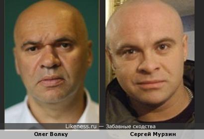 Олег Волку и Сергей Мурзин