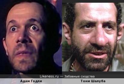 Адам Годли и Тони Шалуба