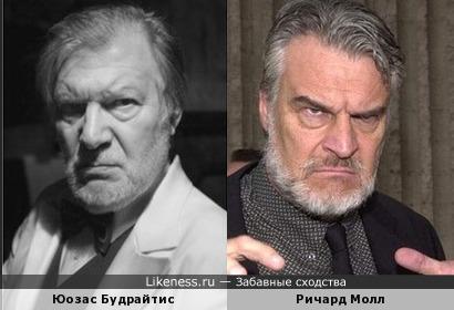 Юозас Будрайтис и Ричард Молл