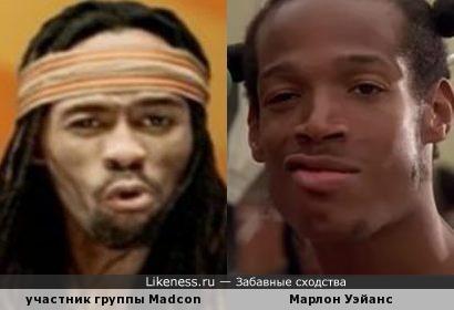 Марлон Уэйанс и Madcon