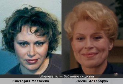 Виктория Матвеева и Лесли Истербрук