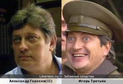 Александр Горохов(II) и Игорь Третьяк