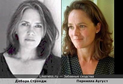 Дебора Стрэндж и Пернилла Аугуст