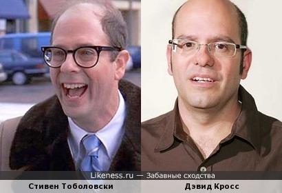 Стивен Тоболовски и Дэвид Кросс