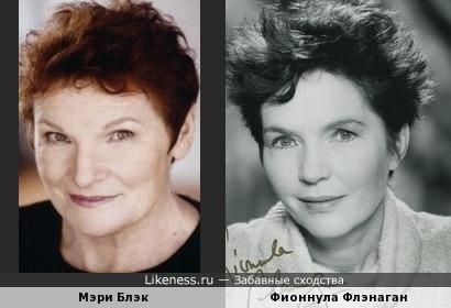 Мэри Блэк и Фионнула Флэнаган