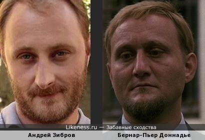 Андрей Зибров и Бернар-Пьер Доннадье