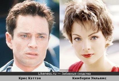 Крис Кэттэн и Кимберли Уильямс