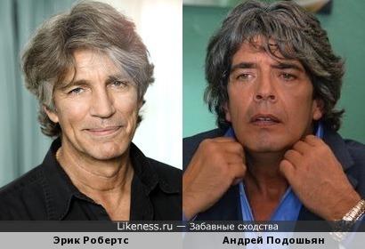 Эрик Робертс и Андрей Подошьян